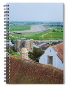 Rye Roofs Spiral Notebook