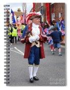 Rye Town Crier Spiral Notebook