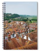 Rye Town Roofs Spiral Notebook