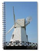 Rye Windmill Spiral Notebook