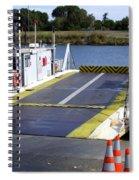 Ryer And Grand Island Ferry Spiral Notebook