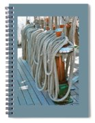S S Mierce Ropes Spiral Notebook