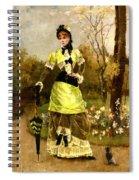 Sa Majeste La Parisienne Spiral Notebook