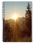 Sabbath Sunset Spiral Notebook