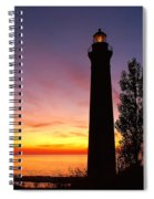 Sable Point Sunset Spiral Notebook