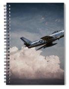 Sabre Speed  Spiral Notebook