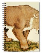 Sabretooth Cat Spiral Notebook