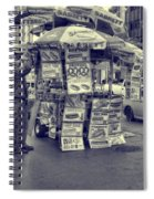 Sabrett Vendor New York City Spiral Notebook