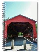 Sachs Covered Bridge 3 Spiral Notebook