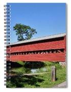 Sachs Covered Bridge Spiral Notebook