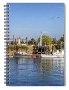 Sacramento River Scene Spiral Notebook