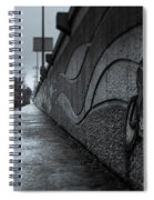Sacramento River Trail At The Turtle Bay Park Spiral Notebook