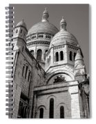 Sacre Coeur Architecture  Spiral Notebook