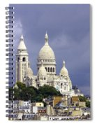 Sacre Coeur Paris France Spiral Notebook