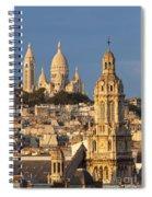 Sacre Coeur - Paris Spiral Notebook