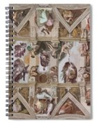 Sacred Ceiling Spiral Notebook