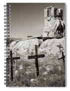 Sacred Cross Spiral Notebook
