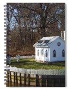 Sacred Ground Spiral Notebook