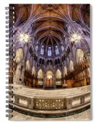 Sacred Heart Sanctuary Spiral Notebook