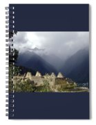 Sacred Mountain Echos Spiral Notebook