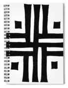 Sacred Roman Cross Spiral Notebook