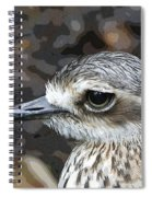 Sad Eyes Spiral Notebook