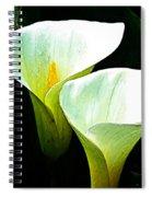 Sad Lillies Spiral Notebook