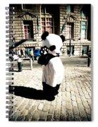 Sad Panda Spiral Notebook