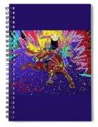Saddle Bronc Spiral Notebook