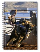 Saddle Bronc Riding Competition Spiral Notebook