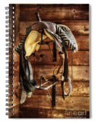 Saddle Spiral Notebook