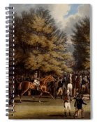 Saddling In The Warren, Print Made Spiral Notebook