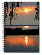 Sadness At Days End Spiral Notebook