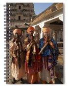 Sadus Holy Men Of India Spiral Notebook