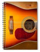 Saehan Guitar Body Spiral Notebook