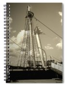 Safe Harbor At Sunset Spiral Notebook