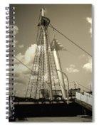 Safe Harbor At Sunset Spiral Notebook