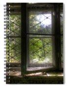Safe Window Spiral Notebook
