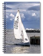 Safely Back To Harbour Spiral Notebook