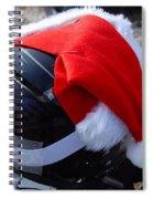 Safety First Santa Spiral Notebook