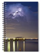 Safety Harbor Pier Spiral Notebook