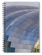 Sage Gateshead Roof Close Up Spiral Notebook