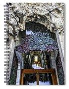 Sagrada Familia Doors - Barcelona - Spain Spiral Notebook