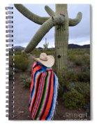 Saguaro Cactus The Visitor 1 Spiral Notebook