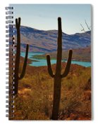 Saguaros In Arizona Spiral Notebook