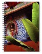Saigon Temple Spiral Notebook