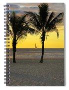 Sail Away At Dawn Spiral Notebook