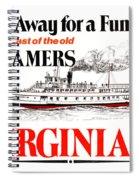 Sail Away For A Fun Day Spiral Notebook