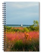 Sail Boat Honeymoon Island Spiral Notebook