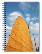 Sail Of A Boat, Ha Long Bay, Quang Ninh Spiral Notebook